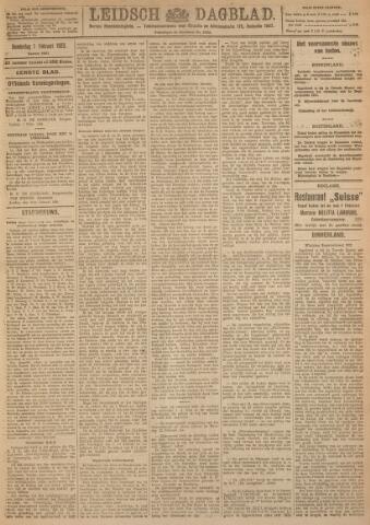 Leidsch Dagblad 1923-02-01
