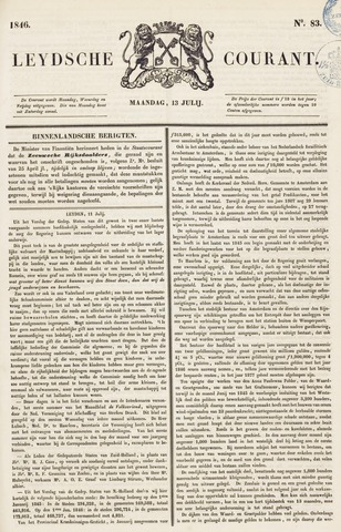 Leydse Courant 1846-07-13