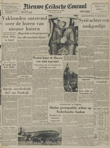 Nieuwe Leidsche Courant 1957-08-22