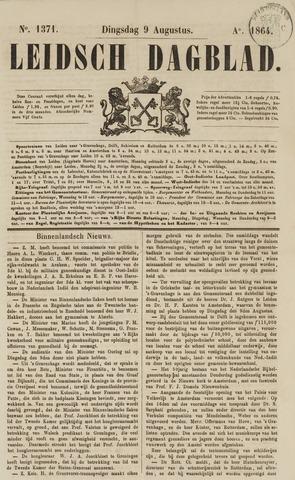 Leidsch Dagblad 1864-08-09