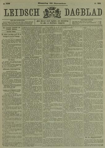 Leidsch Dagblad 1909-11-29