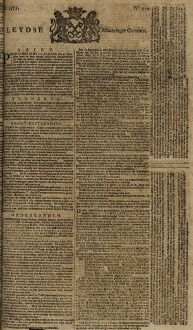 Leydse Courant 1777-10-06