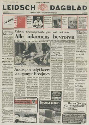 Leidsch Dagblad 1982-11-13