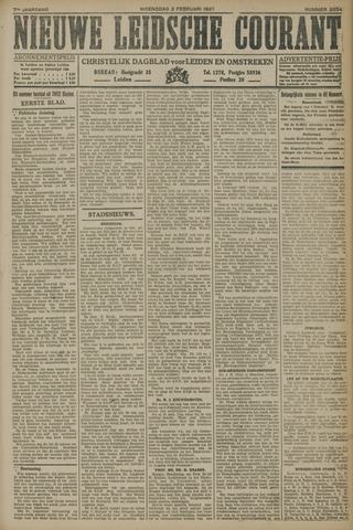Nieuwe Leidsche Courant 1927-02-02