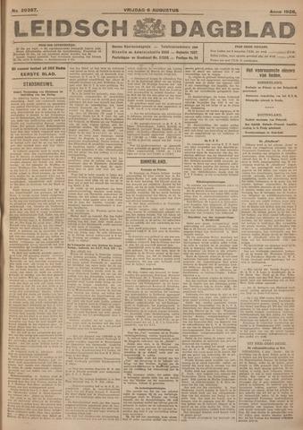 Leidsch Dagblad 1926-08-06
