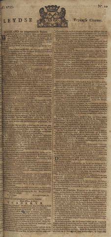 Leydse Courant 1755-02-14