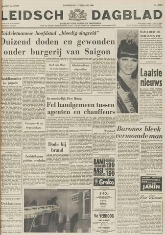 Leidsch Dagblad 1968-02-01