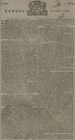 Leydse Courant 1729-09-05