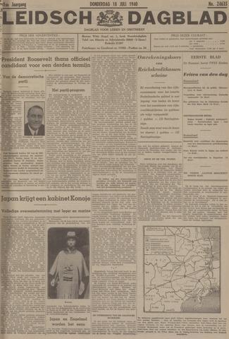 Leidsch Dagblad 1940-07-18