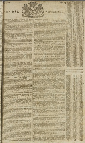 Leydse Courant 1772-07-01