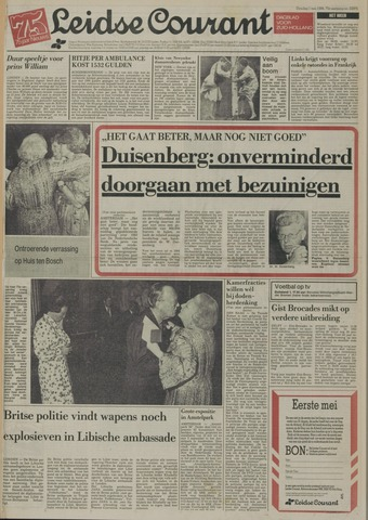 Leidse Courant 1984-05-01