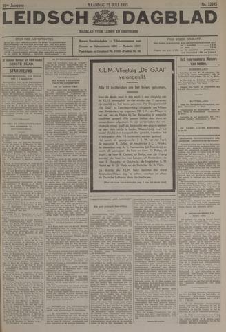 Leidsch Dagblad 1935-07-22