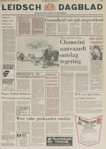 Leidsch Dagblad 1979-11-06