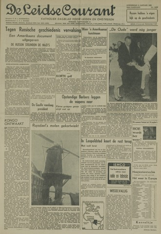 Leidse Courant 1959-01-08