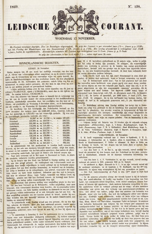 Leydse Courant 1869-11-17