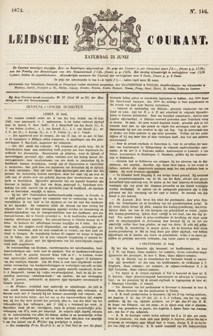 Leydse Courant 1872-06-22