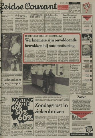 Leidse Courant 1988-06-21