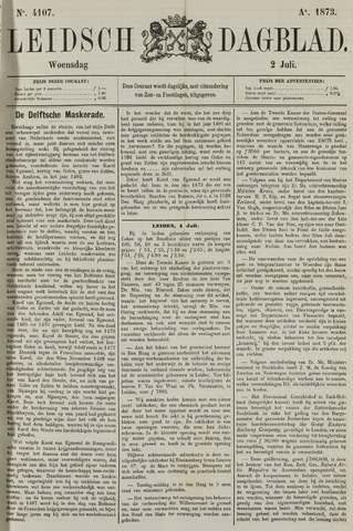 Leidsch Dagblad 1873-07-02