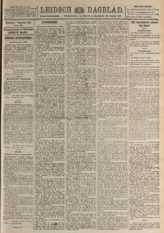Leidsch Dagblad 1921-09-07