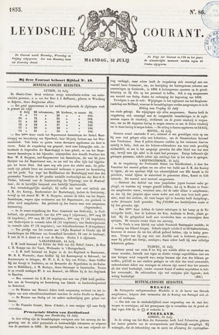 Leydse Courant 1855-07-16