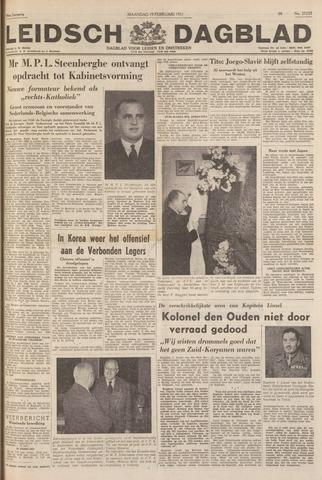Leidsch Dagblad 1951-02-19