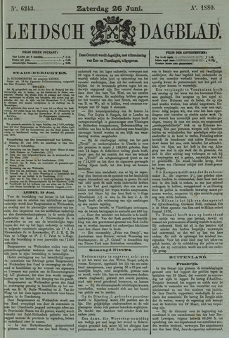 Leidsch Dagblad 1880-06-26