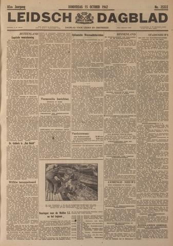 Leidsch Dagblad 1942-10-15