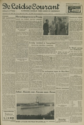 Leidse Courant 1952-11-22