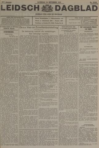 Leidsch Dagblad 1935-09-14