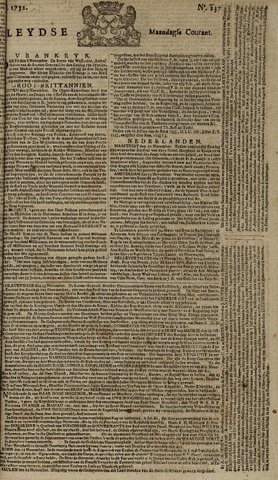 Leydse Courant 1751-11-15