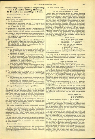 Handelingen van de Raad 1920-12-13