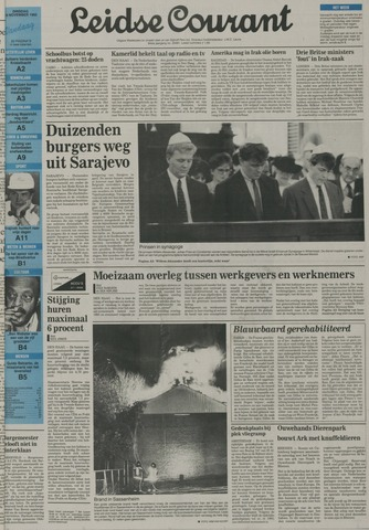 Leidse Courant 1992-11-10