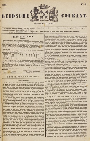 Leydse Courant 1884-01-05
