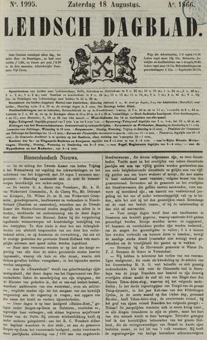 Leidsch Dagblad 1866-08-18