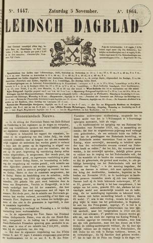 Leidsch Dagblad 1864-11-05