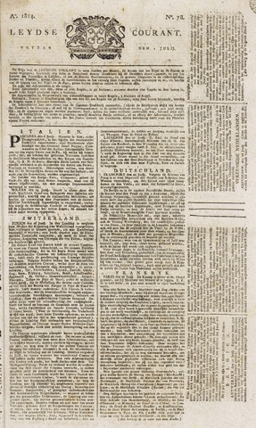 Leydse Courant 1814-07-01