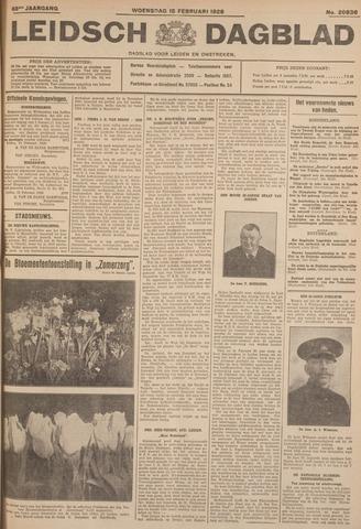 Leidsch Dagblad 1928-02-15