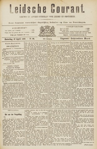 Leydse Courant 1889-04-27