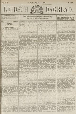 Leidsch Dagblad 1892-07-19