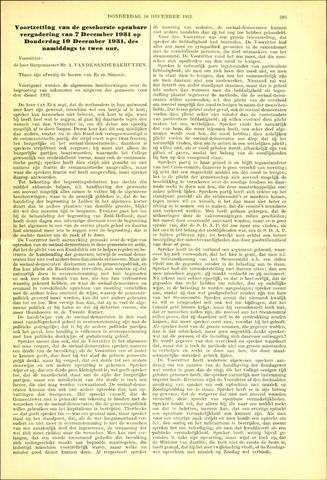 Handelingen van de Raad 1931-12-10