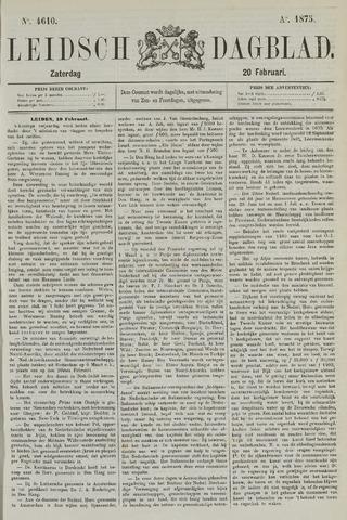 Leidsch Dagblad 1875-02-20