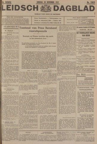 Leidsch Dagblad 1937-11-30