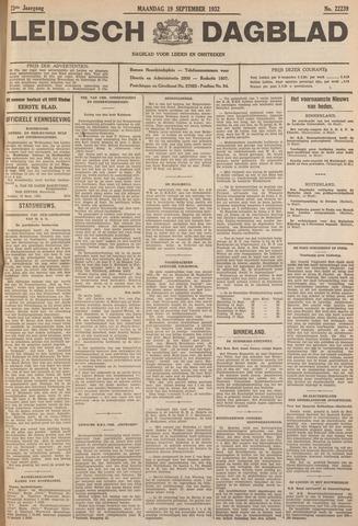 Leidsch Dagblad 1932-09-19