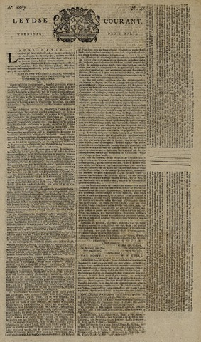 Leydse Courant 1807-04-22