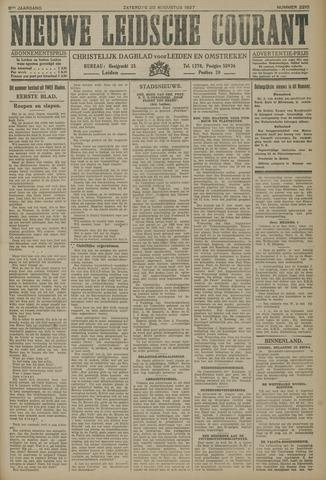 Nieuwe Leidsche Courant 1927-08-20