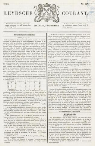Leydse Courant 1855-09-03