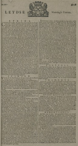 Leydse Courant 1727-06-30