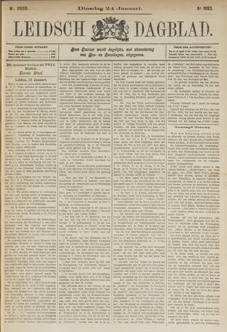 Leidsch Dagblad 1893-01-24