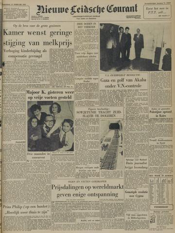 Nieuwe Leidsche Courant 1957-02-27