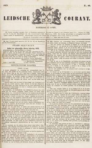 Leydse Courant 1875-04-17
